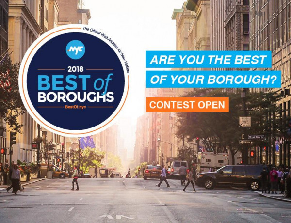 Cash Prize for .nyc domain owners in 2018 Best of Boroughs Contest!