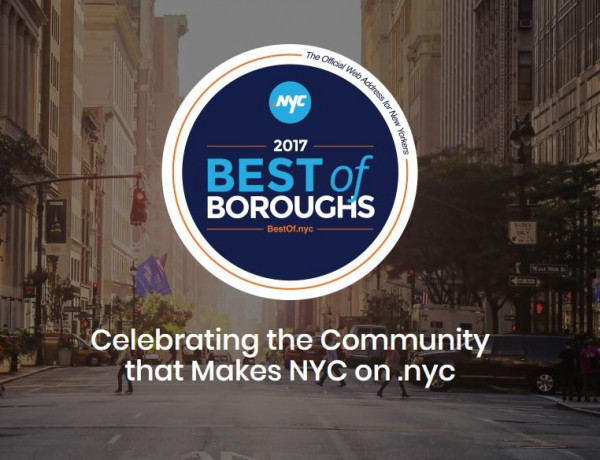 Five Boroughs are Embracing .NYC [Enter Your .NYC Website to Win]