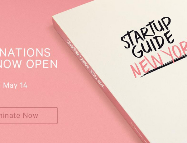 Startup Guide New York: Nominations Open