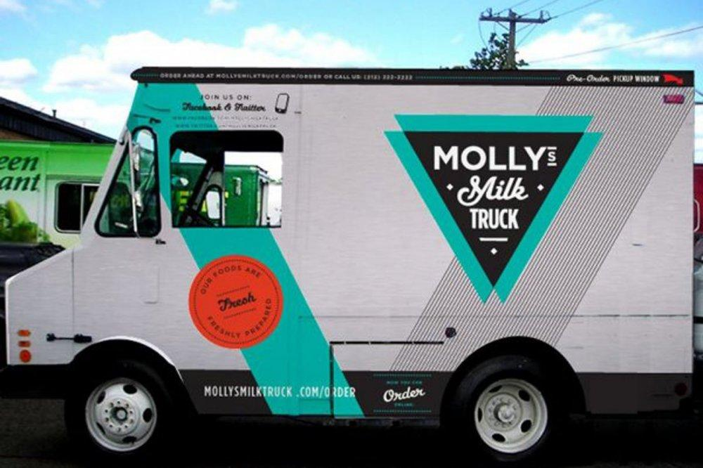 molly's milk truck nyc small business
