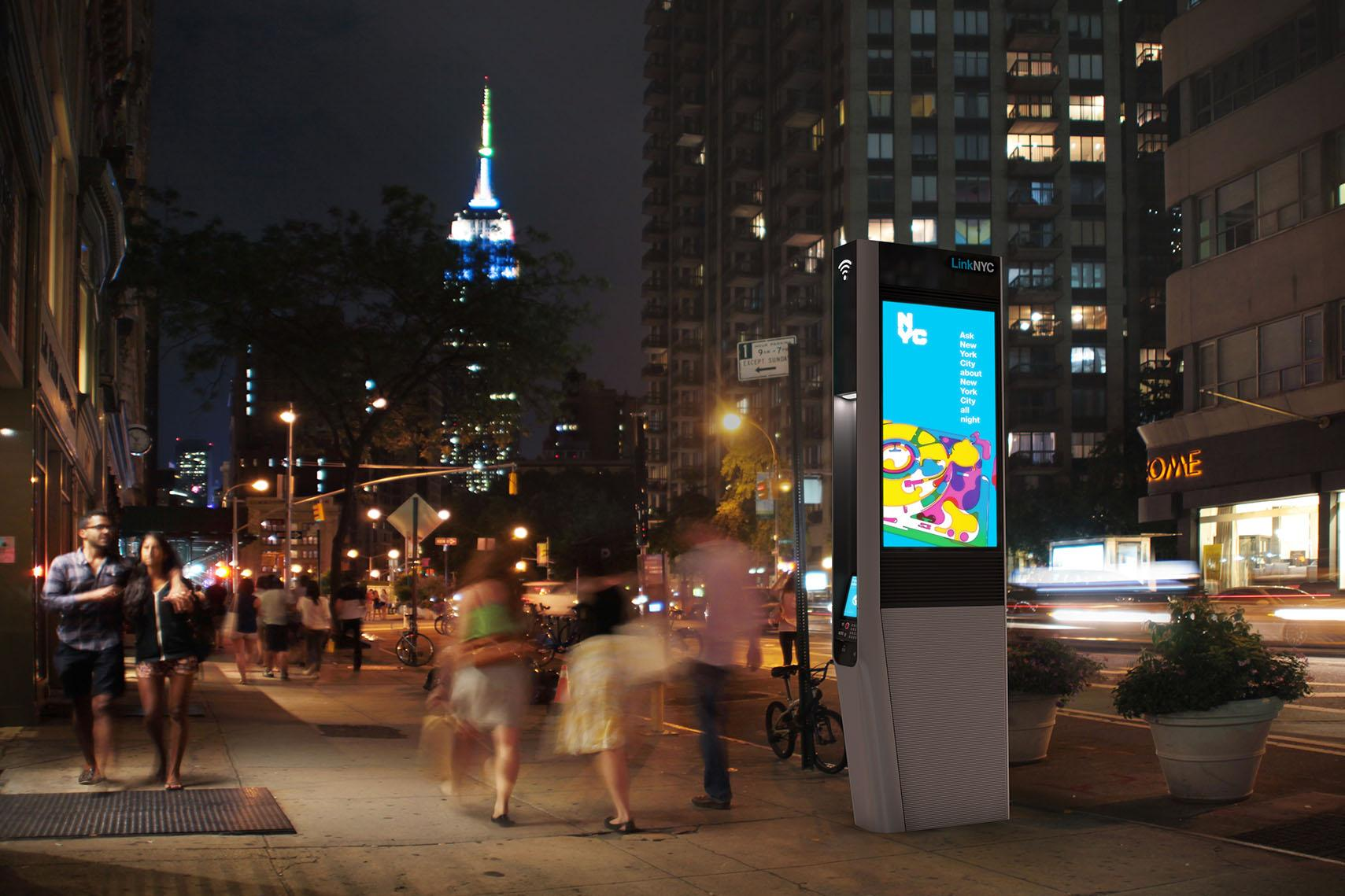 LinkNYC nyc kiosk
