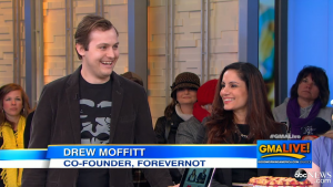 Drew on ABC Good Morning America