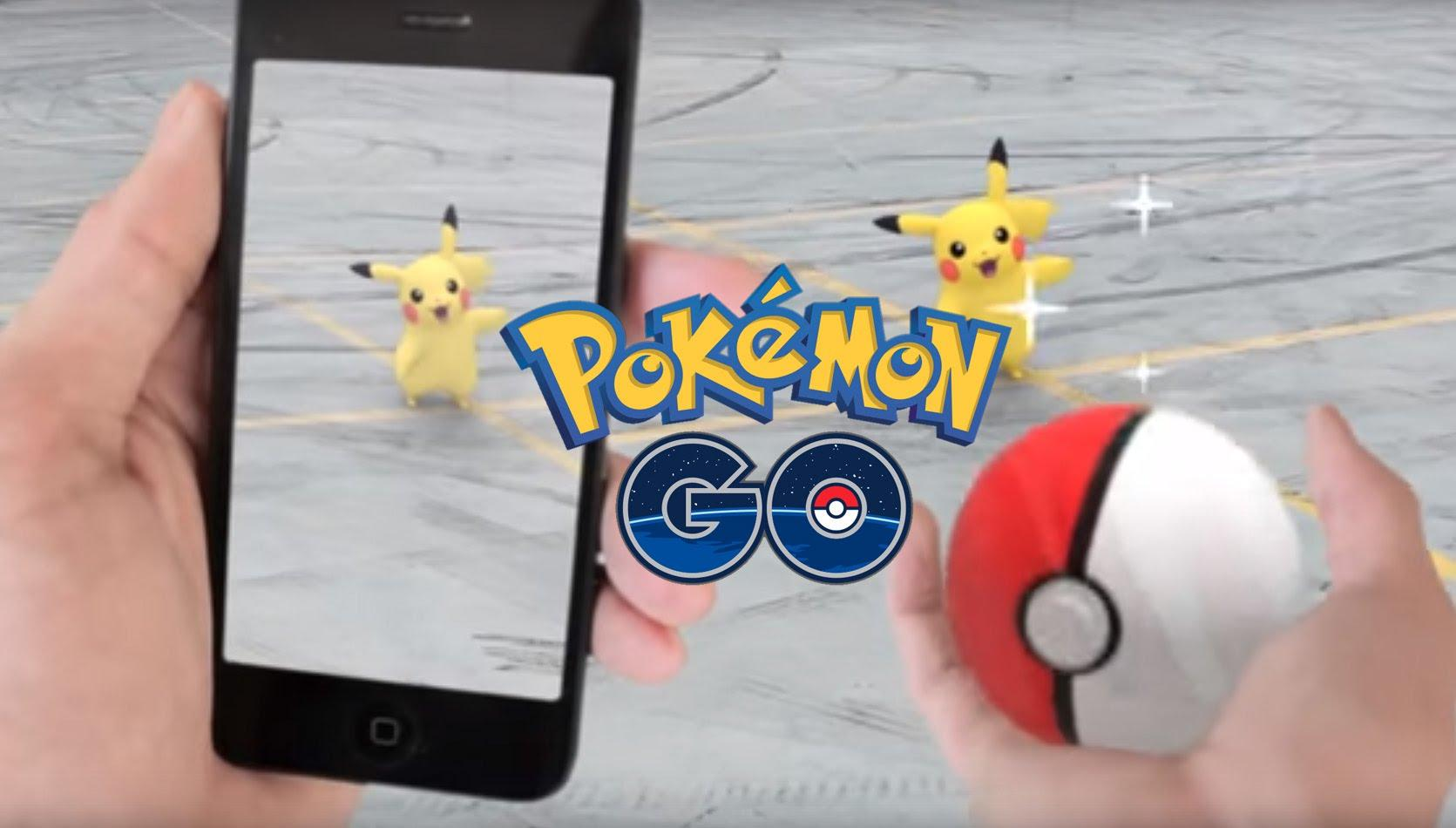 pokemon go phone app augmented reality