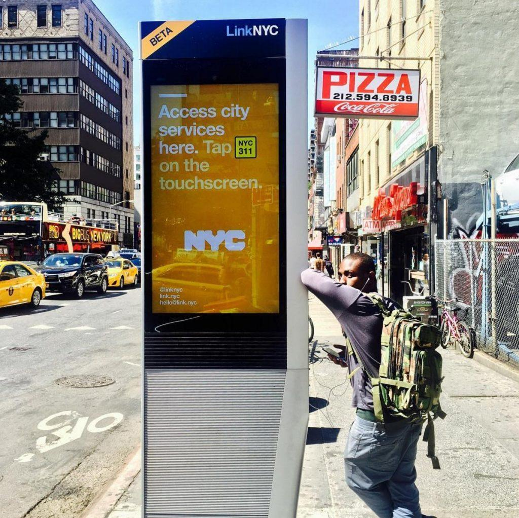link nyc, time square, silicon