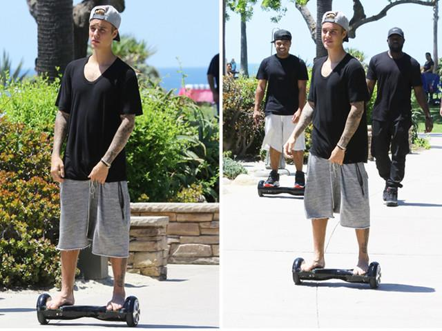 justin bieber hoverboard supply chain nyc