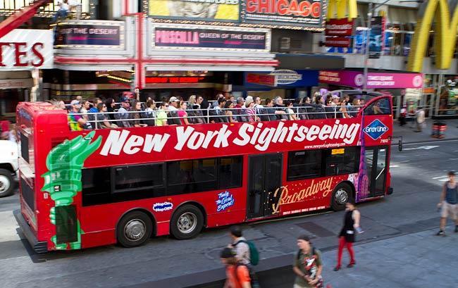 new york sightseeing self driving car driverless