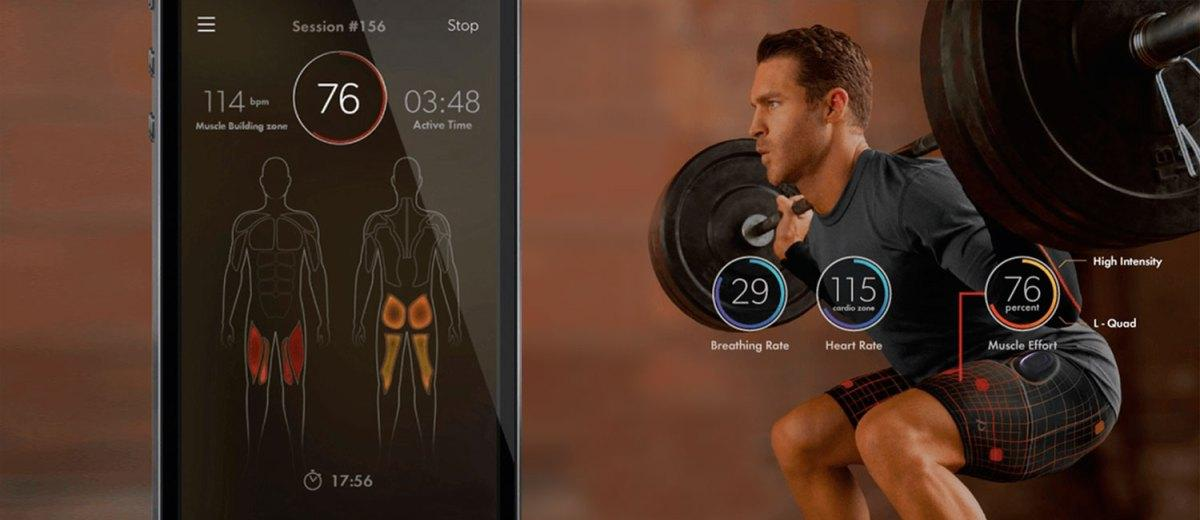 Athos wearable technology fitness app nyc
