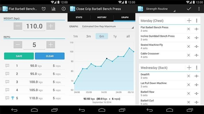 Gym fitness app nyc