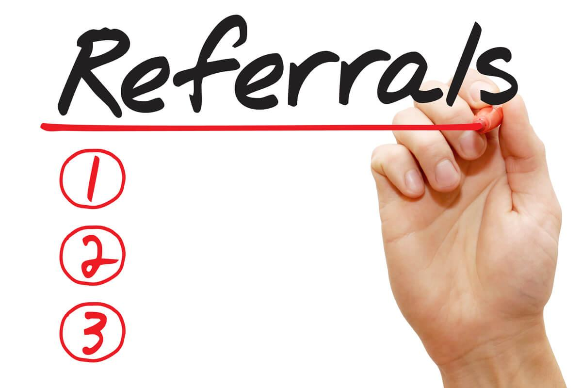 how to make business connections referrals nyc