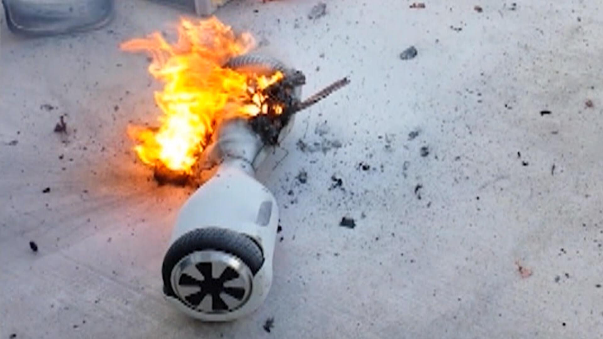 hoverboard fire entrepreneur story advice