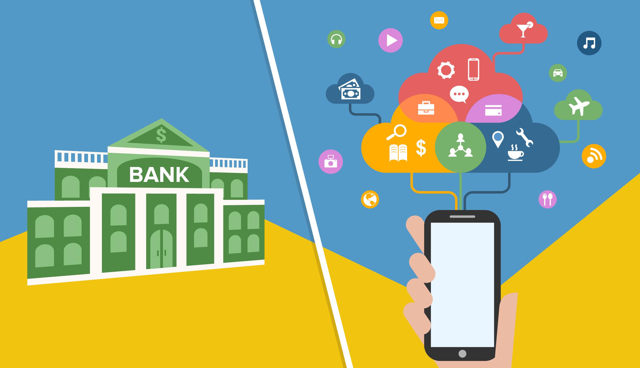 bank blockchain technology fintech transactions