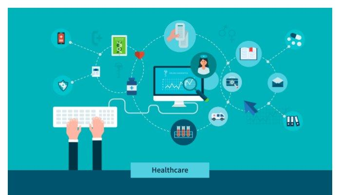 blockchain health care tech