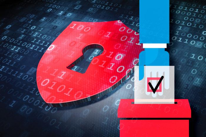 election voting security blockchain technology