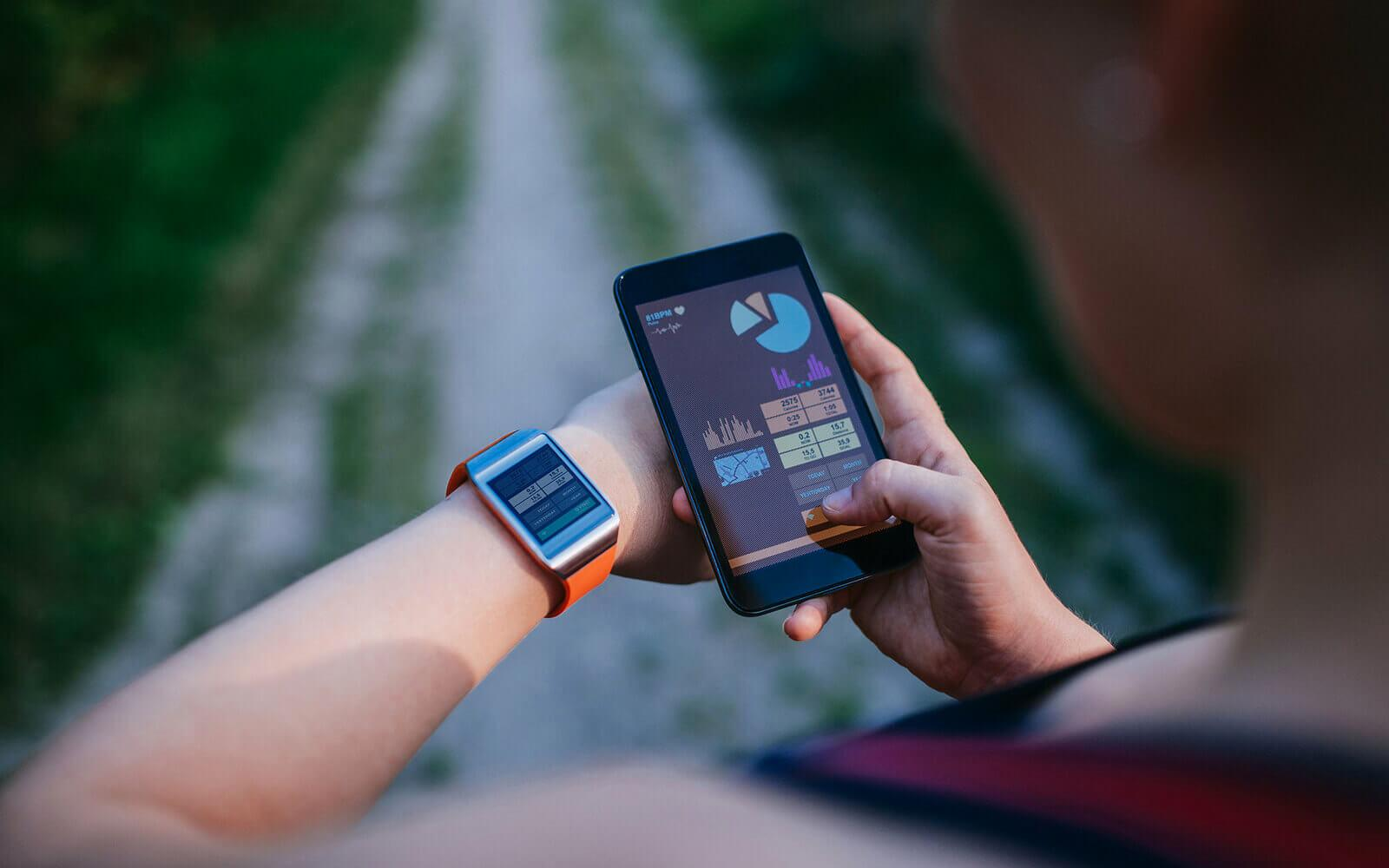 fitness workout apps wearable tech