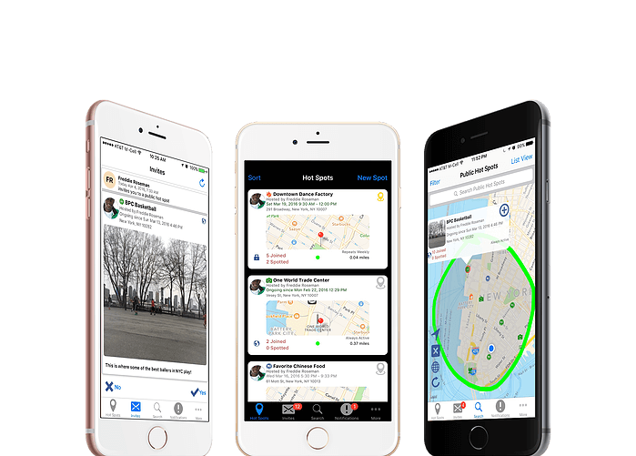 voux app meetup photo sharing