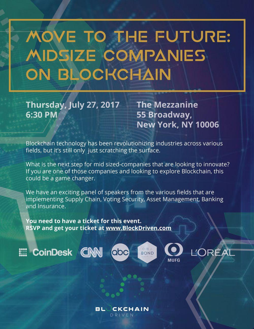blockchain event nyc