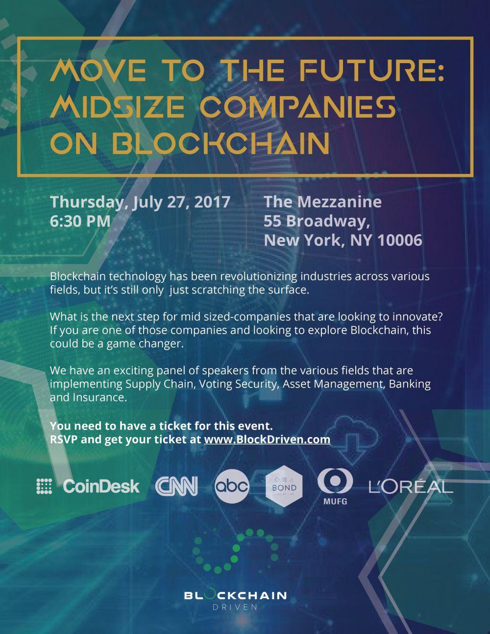 blockchain event nyc