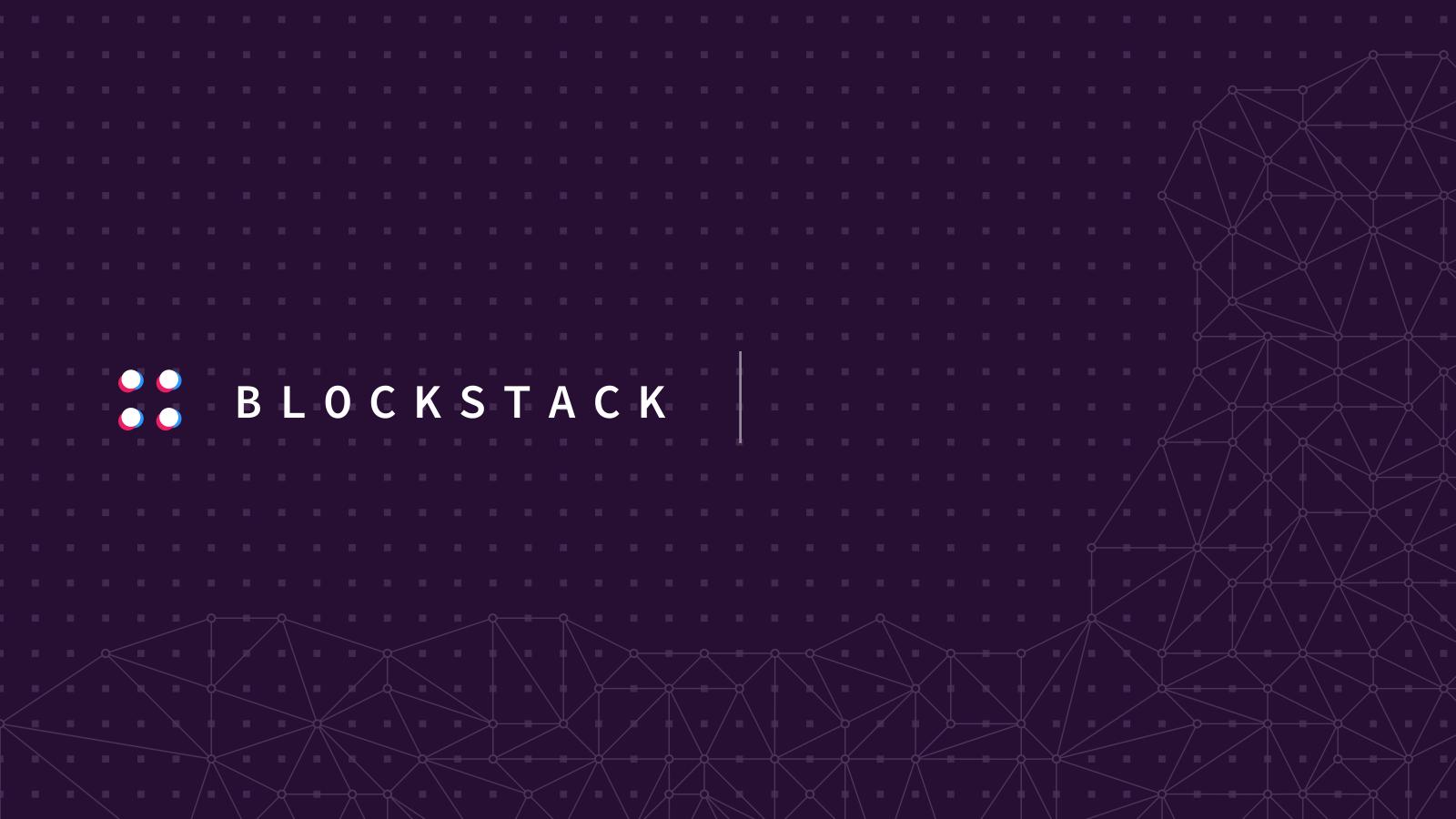 blockstack decentralize internet blockchain startup nyc