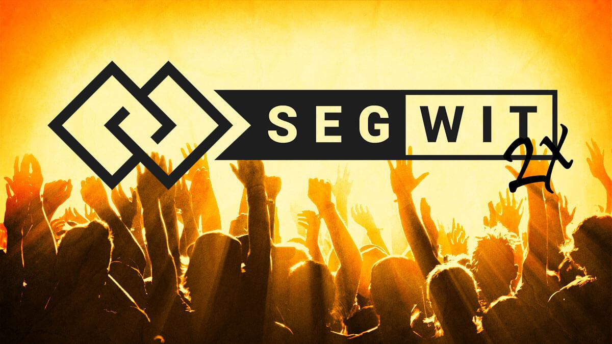 segwit2x bitcoin cryptocurrency fork split
