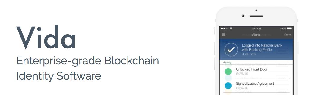 vida blockchain startup identity security nyc